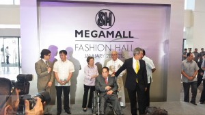 Opening of Fashion Hall